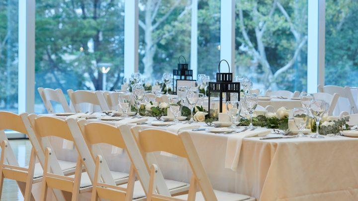 Founders Dinner Table Setup