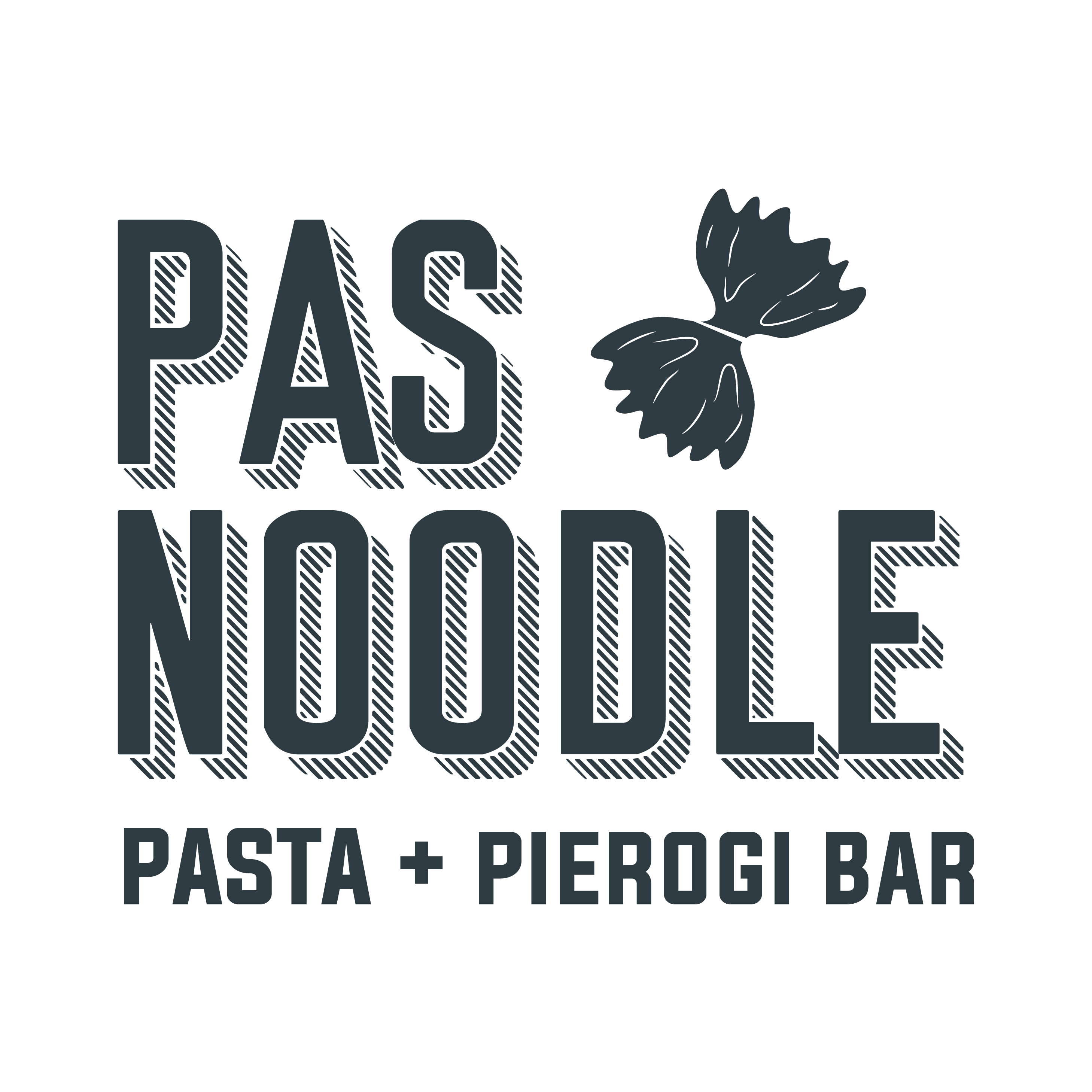 Graphic logo for pasta bar