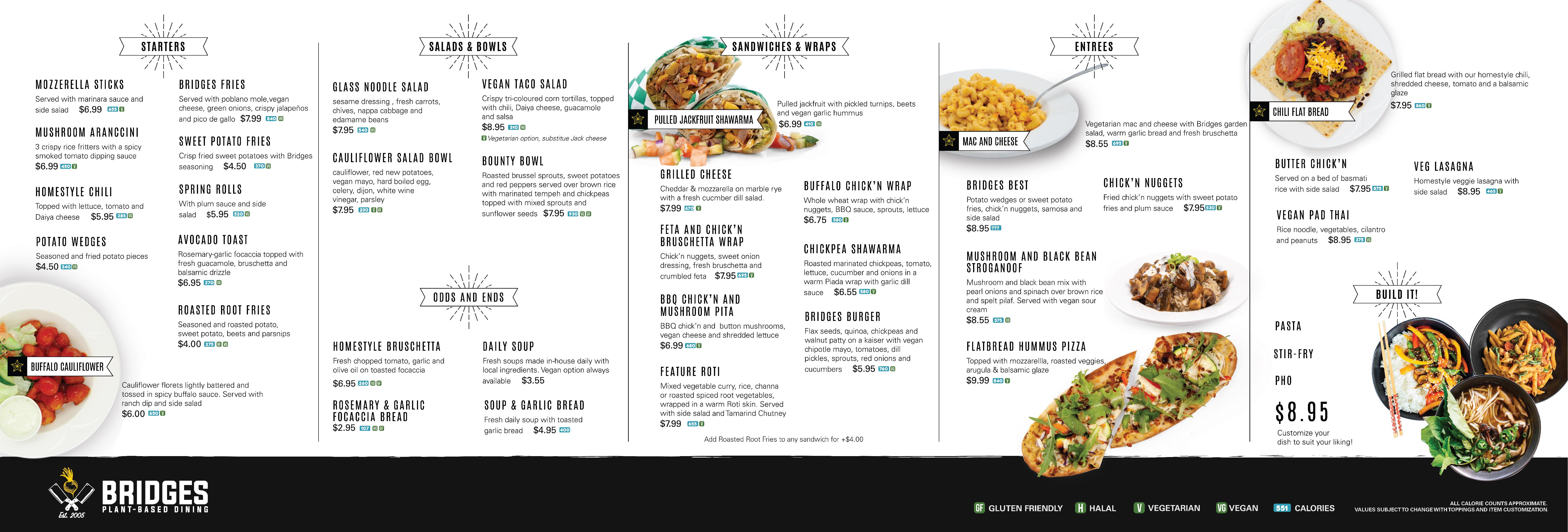 menu graphics
