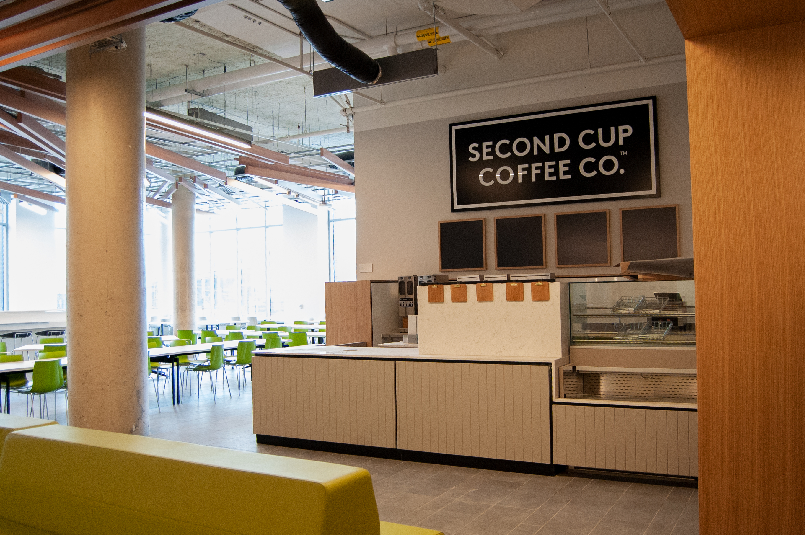 View of Second Cup from a distance
